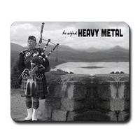 Bagpipes Heavy Metal Mousepad> Mousepads> Cross Threads