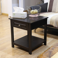 Square Accent End side Table night Stand nightstand