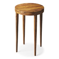 Cagney Solid Wood Accent Table