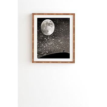 Shannon Clark Love Under The Stars Framed Wall Art