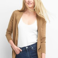 Merino wool V-neck cardigan | Gap