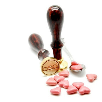 Pink Heart Shape Sealing Wax for Wax Seal Stamp