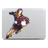 IronMan-Mac 3 decals Macbook sticker Macbook pro decal Macbook air decal Aappl decal sticker