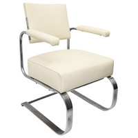 A 1930's American Modernist Art Deco Chair by Gilbert Rhode