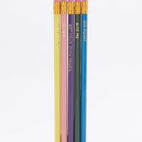 Slogan Pencils Pack - Urban Outfitters