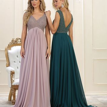 Long Prom Dress Formal Evening Party Gown