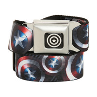 Marvel Captain America Shield Seat Belt Belt