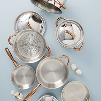 BergHOFF Ouro Gold 11-Piece Cookware Set