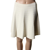 Theory Womens Rortie Knit Textured Mini Skirt