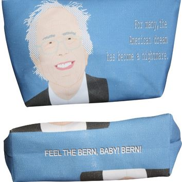 Bernie Sanders Makeup Bag – Illustrated and Handmade in the USA