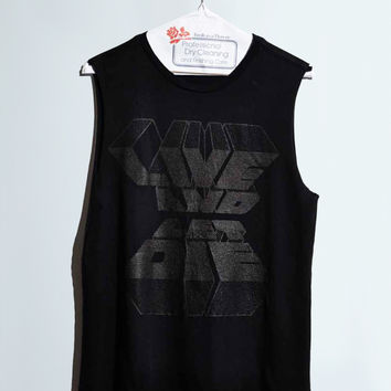 Live and Let Die Women's Sleeveless Tee Black