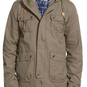 Men's United By Blue 'Milton' Hooded Field Jacket,