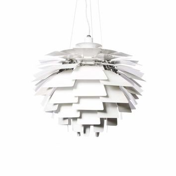 Inspired by Poul Henningsen Artichoke Pendant Light - Medium