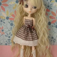 Brown dress and haiclip for Pullip - Little Lénie