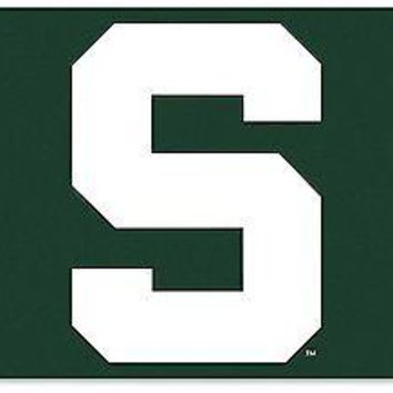 "Michigan State Spartans NL 95529 ""S"" 3x5 Flag w/grommets House Banner University"