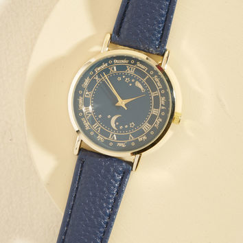 I Believe Nuit Have Met Watch | Mod Retro Vintage Watches | ModCloth.com