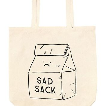 Sad Sack Oversized Tote Bag