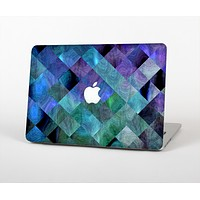The Multicolored Tile-Swirled Pattern Skin Set for the Apple MacBook Air 13""