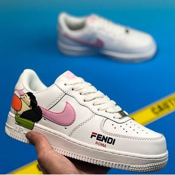 Nike/Fendi  Air Force 1 Fashion casual shoes