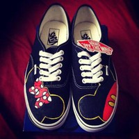 Mickey & Minnie Custom VANS Shoes