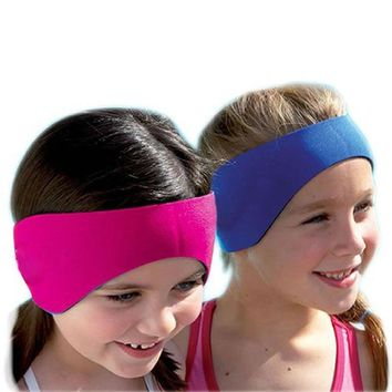 Swimming Headband Adult Children Swimming Bathing Water Repellent Earband