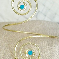 Arm Cuff Custom Created by You, Arm Band, Armlet - Great for Special Occasions- Great Wedding Jewelry