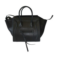 2013 - Celine Phantom Luggage Medium Tote Bag in Black