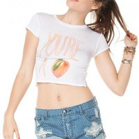 Brandy ♥ Melville |  Carolina You Are Peach Top - Just In