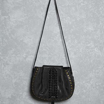Lionel Faux Leather Bucket Bag