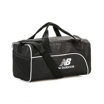 new balance black training day small duffel bag