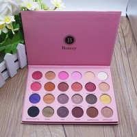 Boissy Professional Make-up Stylish Beauty 24-color Eye Shadow Matt Make-up Palette [501354233871]