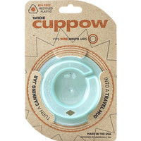Cuppow Canning Jar Drinking Lid - Wide Mouth (Mint Green)