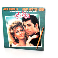 GREASE VINYL Soundtrack Record Album Soundtrack 1978 Missing Record Disc 2