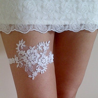 ivory hearts lace garter belt