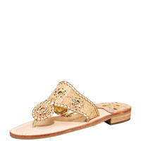 Napa Valley Whipstitch Thong Sandal - Jack Rogers
