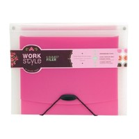 Wilson Jones WorkStyle 5-Pocket Folder Filer, Letter Size, Midori Style, Multi-Color (W31602)