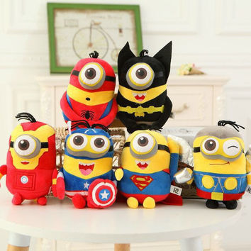 Minions Cosplay The Avengers Toys (20cm) - Free Shipping