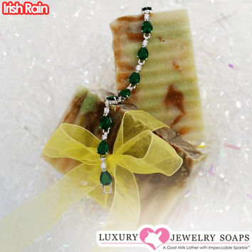 Irish Rain Luxury Jewelry Soaps