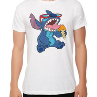 Disney Lilo & Stitch Ice Cream Slim-Fit T-Shirt 2XL