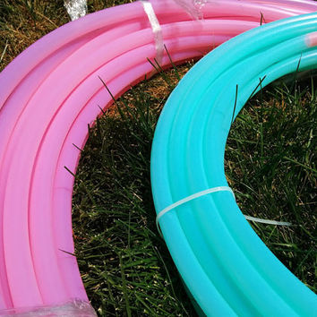 UV Pretty in Pink and Happy Turquoise Polypro Hoops
