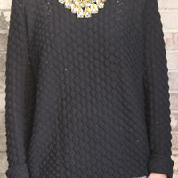Sly Scale Pattern Sweater