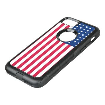 American Flag OtterBox Commuter iPhone 7 Case