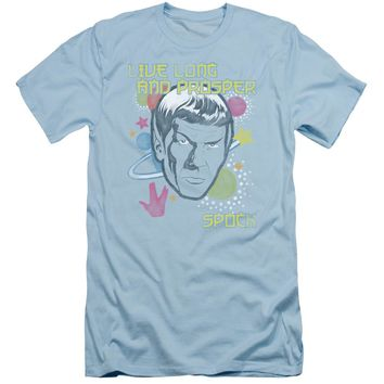 Star Trek - Japansese Spock Short Sleeve Adult 30/1 Shirt Officially Licensed T-Shirt