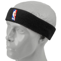 NBA Black Logoman Headband