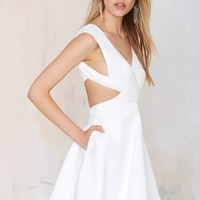 Finders Keepers Glory of Love Cutout Dress