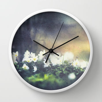 Rugged beauty Wall Clock by HappyMelvin