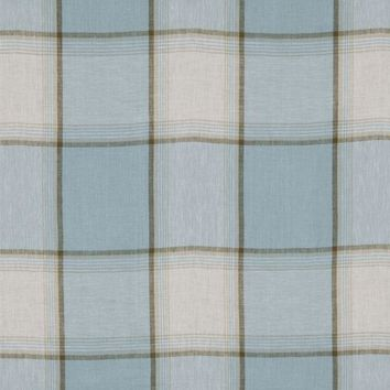 Robert Allen Fabric 215680 Vintage Plaid Surf