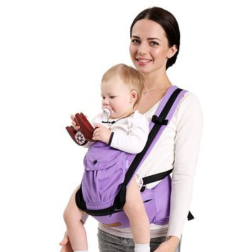 Best Baby 0-30 Months Comfortable Multifunctional Load 15Kg Back Front Facing Baby Carrier Adjustable Detachable Newborn Sling
