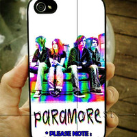 Paramore Colorful Rainbow iPhone Case 4 / 4S / 5 Case Samsung Galaxy S3 / S4 Case