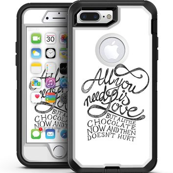 Love and Chocolate - iPhone 7 Plus/8 Plus OtterBox Case & Skin Kits